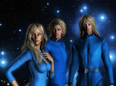 Pleiadians, also known as Nordic aliens, are humanoid aliens that come from the stellar systems surrounding the Pleiades stars, and they're really really rea. Les Aliens, Aliens And Ufos, Ancient Aliens, Tantra, Atlantis, Nordic Aliens, Secret Space Program, The Pleiades, Star Family