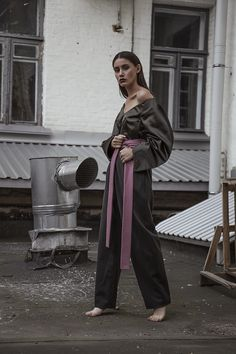Anna Mazhyk photographed by Anna Butenina style Mira Marchuk mua Maria Sova  total look Lara Quint