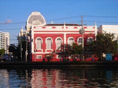 """Rio Capibaribe"".  Rua do Sol. * Recife, Pernambuco. Brasil."