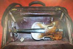 A Violin Found in the Titanic Wreckage