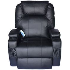 This is our Deluxe Ergonomic Massage Recliner Sofa Chair, which is of ergonomically designed with 8 vibrating massage nodes. With the heated nodes, this chair i...