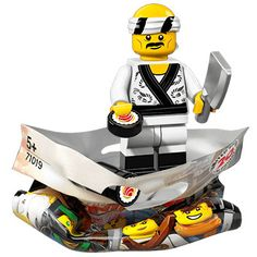 LEGO 71019 Ninjago Movie Series Collectible Minifigures Sushi Chef NEW /& SEALED