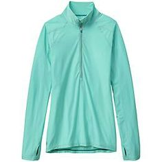 Canyon Lands Half Zip - The beyond-lightweight half-zip that performs effortlessly in every sweat-fest.