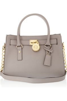MICHAEL Michael Kors|Hamilton leather tote ... the perfect size, shape and colour!