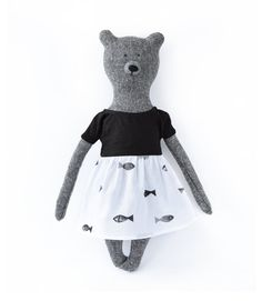 Louise The Bear. Stuffed Bear. Child friendly toys. Soft Bear - Best Friend for kids