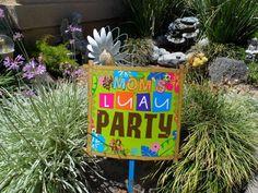Mom's Birthday Luau!   CatchMyParty.com
