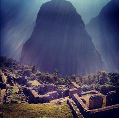 """Photo by Lee Murray:  """"Machu Picchu, no filter, Ancient inca spirits no doubt! Intrepid tour 2012. Malkita was our tour leader. Fun times!"""""""