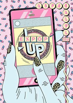 Expop'up : Projet collaboratif original de Freak City et Atelier Kobalt à mi-chemin entre l'exposition et le pop-up store. Du 25 Septembre au 17 Octobre à l'Espace LVL - Nantes.