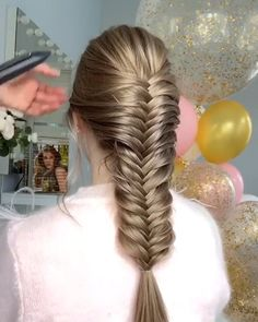 Easy and Quick Hair Tutorials! – Easy and Quick Hair Tutorials! – Easy and Quick Hair Tutorials Fast Hairstyles, Braided Hairstyles Tutorials, Easy Hairstyles For Long Hair, Hairstyles For School, Trendy Hairstyles, Hair Tutorials, Video Tutorials, Beautiful Hairstyles, Braid Hairstyles