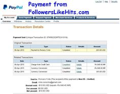 Recent payment by http://FollowersLikeHits.Com , Get 1000000 Credits worth $200 FREE....  Special Offer : Buy 50 active Affiliates to earn for you... 1000000 Credits FREE, Premium member  for 365 days FREE, Save $400, Earn unlimited Earn $100 per Affiliates....  For best bonuses and offers please visit: http://followerslikehits.com/index_mega_bonuses.php http://followerslikehits.com/special_offer_inner.php http://followerslikehits.com/EarnunlimitedFREECredits..