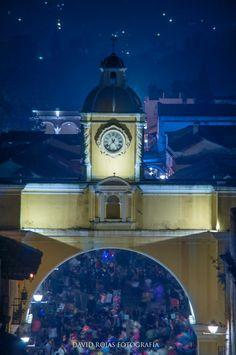 Icono de la ciudad colonial de Antigua Guatemala, Arco de Santa Catalina.