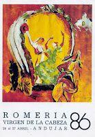 Andújar peregrina: Los carteles de Romería del ceramista Francisco Ho...
