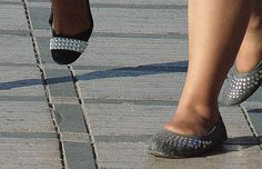 Women Fashion Shoes and Feet in Marrakech Morocco    Photos by Nora Chakri    www.norachakri.com     So Beautiful..  I Love It !!!