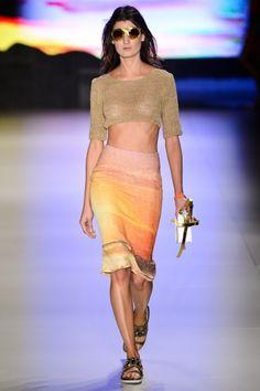 Osklen Spring 2013: Brigitte Bardot Meets Blue Crush  {Sao Paulo Brazil Fashion Week, via fashionista }