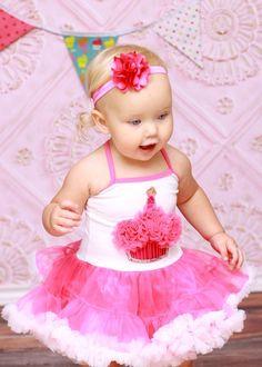 Pink Baby Boutique - Hot Pink Glitter Cupcake Birthday Tutu Dress, $68.00 (http://www.pinkbabyboutique.com/hot-pink-glitter-cupcake-birthday-tutu-dress/)