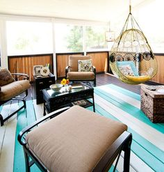 Dream Painted Floor Porch Painting Summer Design Your Home Floors
