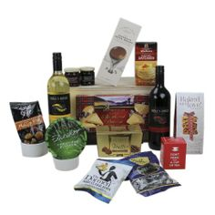 Kells Edge Porter and Woodman Christmas Treats Hamper including Bottle of Chardonnay and Shiraz 75 cl @ Christmas Treats, Christmas Presents, Wine Recipes, Gourmet Recipes, Gift Hampers, What You Eat, Cool Things To Buy, Stuff To Buy, Really Cool Stuff