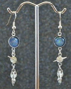 Sterling Opal Triplet Moonstone and Baby by AngelwearCreations