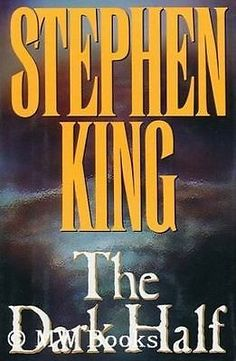 The Dark Half 1st edition by Stephen King 1989, Hardcover in excellent condition