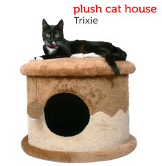 A soft, plush hideaway for your feline friend from Petco's Holiday Gift Guide.