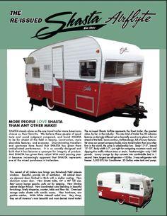 1961 Shasta Airflyte Reissue Terry Town RV Superstore