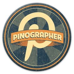 """My husband coined the term ""pinographer""  and designed this button.  He told me I was his inspiration, I think his inspiration is all the pinographer women he works with!!!"""