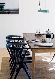 Anour I-Model oxidised copper and Sibast furniture