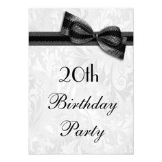 167 best damask birthday theme images birthday ideas damascus damask 100th Birthday Celebration for Party Favors 20th birthday party damask and faux bow personalized announcement 90th birthday parties 60th birthday party