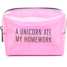 Pinch Provisions A Unicorn Ate My Homework Locker Kit ($22) ❤ liked on Polyvore featuring beauty products and pink