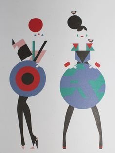 London Fashion Week  illustrations created for the 2012 LFW's guide at the Somerset house.  Art direction by Music