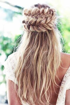 Cool Half Braided Hairstyles picture 1