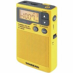 Sangean Am/fm Digital Weather Alert Pocket Radio (san-dt400w) - by Sangean. $83.19. Description:The Sangean DT-400W AM/FM Pocket Radio is the only pocket radio you will ever need to buy. It has about everything you could want, and then some, in a small, pocket sized portable radio. As an example the NOAA Weather Alert Emergency Channel sounds a very loud audible tone when an extreme weather condition is imminent and/or a police emergency or child abduction has occurred or...