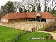 Prime Oak Buildings | Eiken bijgebouwen | Stallingen