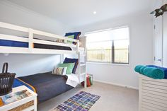 More bunks in our Tauranga Showhome! Great space saver, and fun for the kids!
