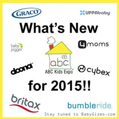 Updates for New Baby Products for 2015 #baby