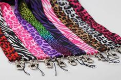 Animal Print Lanyard Keychain ID Holder Zebra Leopard Cheetah in all Colors Id Holder, Badge Holders, Nursing Accessories, Lanyard Keychain, Retractable Badge Holder, Id Badge, All The Colors, Fabric Design, Lightbulbs