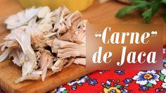 Receita de Carne de Jaca: http://presuntovegetariano.com.br/receitas/vegan/carne-de-jaca/ Fricassê Vegano: http://presuntovegetariano.com.br/uncategorized/fr...