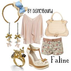 Faline outfit - by disneybound
