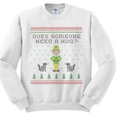 white christmas movie sweater - Google Search