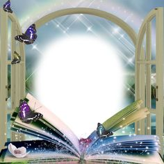 Beautiful book butterfly frame, Beautiful Photo Frame, Butterfly Frame, Book Frame PNG Image and Clipart Butterfly Clip Art, Butterfly Frame, Flower Frame, Borders For Paper, Borders And Frames, Book And Frame, Photo Frame Design, Birthday Frames, Frame Background