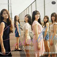 ♡ 여자친구 GFriend ♡ ♤ : IG Update - Repackag Of Album Rainbow To Summer Rain