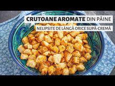 Supă-cremă de roşii cu crutoane   Bucate Aromate Supe, Vegan, Ethnic Recipes, Diet, Vegans