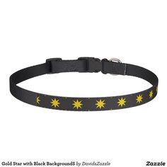 Gold Star with Black Background Dog Collar This design is available  on many products! Click the link and hit the 'Available On' button near the product description to see them all! Thanks for looking!  @zazzle #star #pattern #decor #home #design #dog #bed #pet #animal #friend #family #accessory #accessories #buy #sale #shop #shopping #owner #fun #sweet #fido #woof #awesome #cool #chic #modern #style #bed #collar #leash #bowl #tag #color #blue #navy #black #purple #orange #grey #gray #gold…