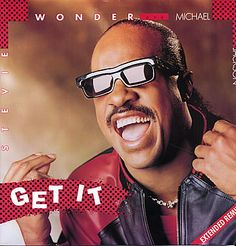 """For Sale - Michael Jackson Get It - with Stevie Wonder UK  12"""" vinyl single (12 inch record / Maxi-single) - See this and 250,000 other rare & vintage vinyl records, singles, LPs & CDs at http://eil.com"""
