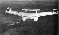 Norman Bel Geddes Design for an Airliner
