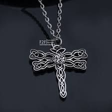 Save here on Outlander Dragonfly Symbol Pendant Necklace