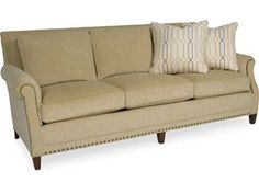 Shop for Larren Grey Leighton Sofa, 2320, and other Living Room Sofas at Whitley Furniture Galleries in Raleigh, North Carolina. Flawless design and beautiful aesthetics make this sofa a must-have addition. A flourish of sharp looks and a versatile build provide a sofa that lends purpose to your home.