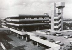 Tricorn Centre in Portsmouth, England (1962-65) - designed by Owen Luder and Rodney Gordon.