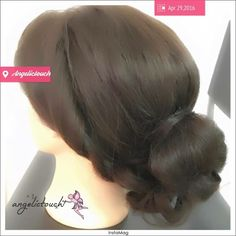 Hairstyle 4.29.16 #angelkikicheng #hairartist #makeupartist #angelictouch_makeupandhair #your_angelskin #hairstyle