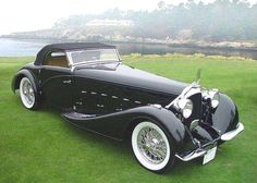 This is a car..  1934 Voisin C15 Roadster.
